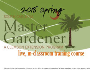 Master Gardner Training Course (Now) @ Aiken County Clemson Extension | Aiken | South Carolina | United States